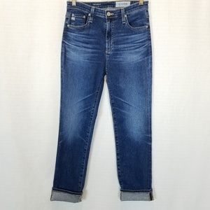 AG | The Isabelle High Rise Straight Crop 27R